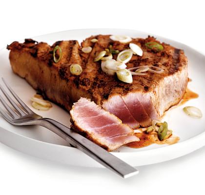 miso tuna, main entree seafood