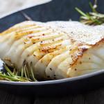 Skrei torskryggfilé med ägg och kapris
